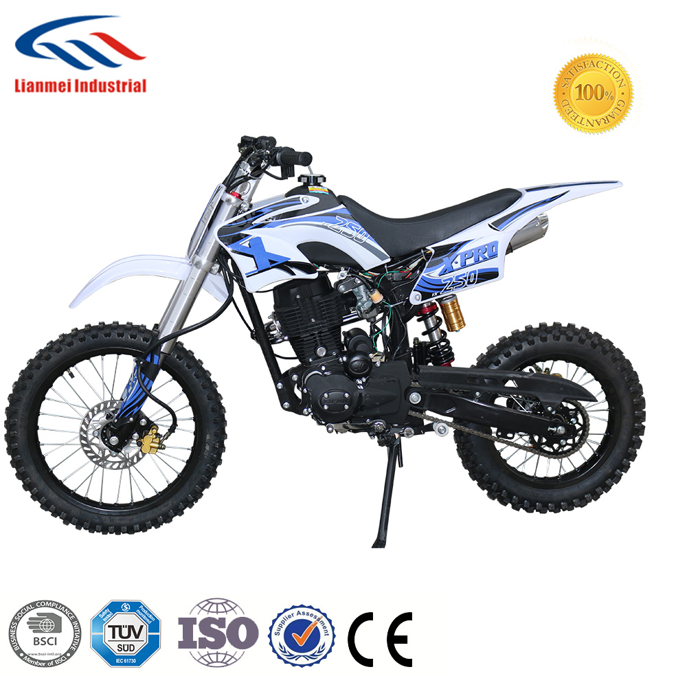 hot sale 250cc pit bike racing motorcycle with certificate