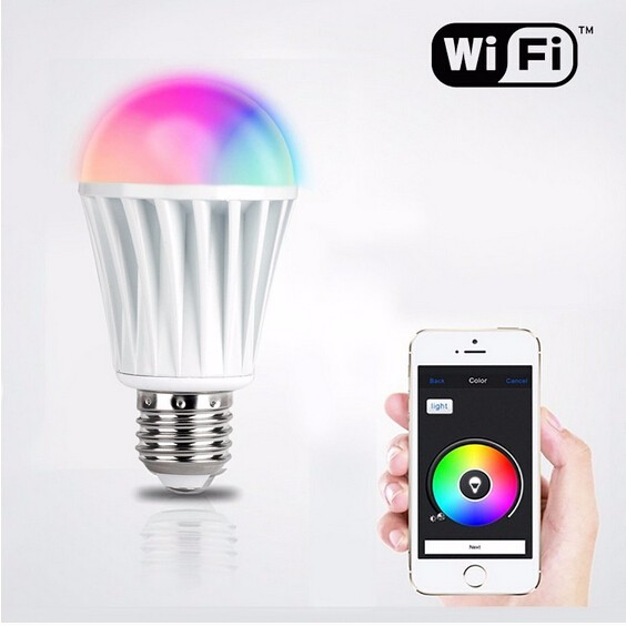 Wi-Fi LED Color Changing Smart Light Flashing Strobe Party Lightbulb Automation