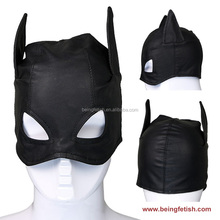 LS-196 Adjustable Fetish Soft PVC Leather Hoods Mask Great Fun Adult Games Sex Toy Online Shop In India