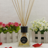 Square paper flower Glass Bottle for reed diffuser with rattan sticks NS150ml
