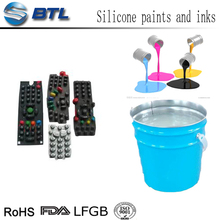 Alcohol resistance transparent liquid PU coating ink for protection