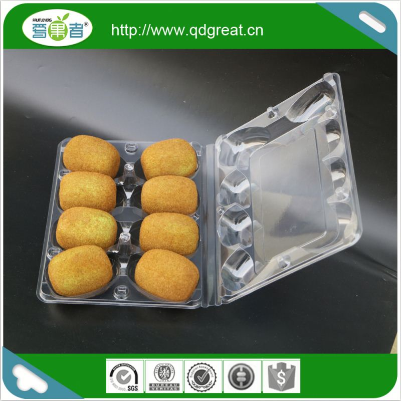 Wholesale Custom Design Transparent Plastic Fruit Packaging Box For Fruit