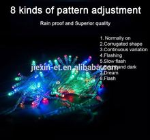 Solar Christmas Lights 72ft 22m 200 LED Solar Fairy decoration light with star decoration