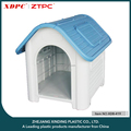 big pet kennel with opening window plastic doggy cat house