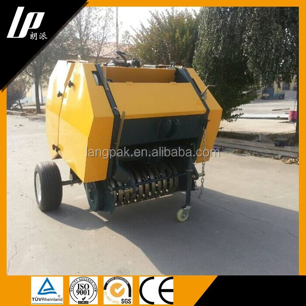 hay pick up baler /hay press baler/mini hay baler for sale