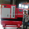 10HP Combined screw air compressor with tank and dryer and filters