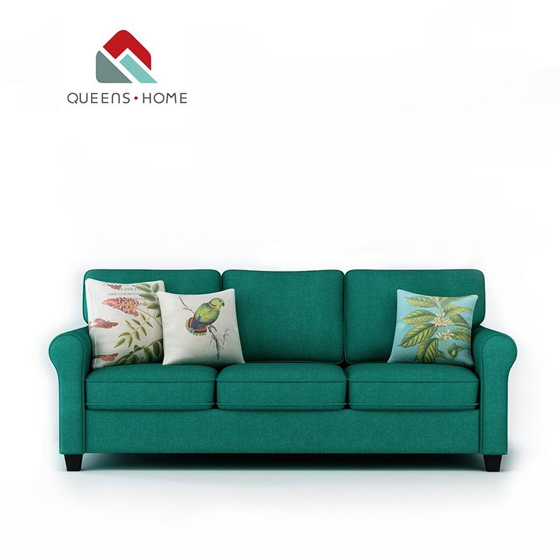 Queenshome 2018 Sofa Set 3 5 Seater Cream Velvet Soft Dfs Dark Green Fabric  Cover Sofa Set Furnitures House Living Room Sofa - Buy Modern Living Room  ...