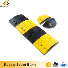 Customizable 500m rubber speed ramps speed humps and bumps for sale