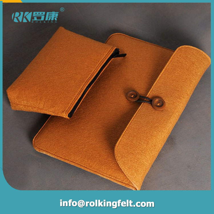 2016 New coming style handmade the panda shape felt computer bag for sale Free Inspection