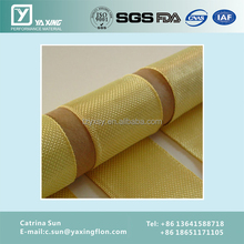 industrial use black woven kevlar fabric