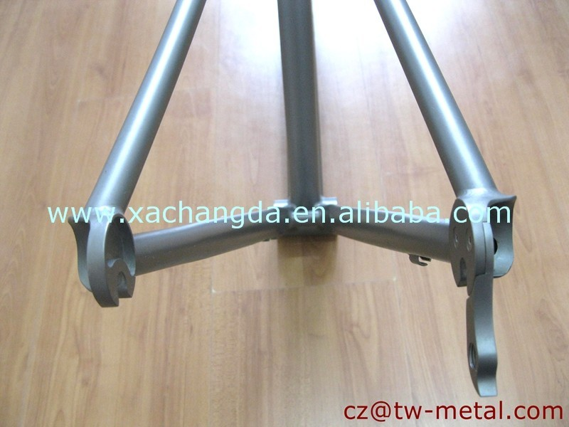 XACD made Titanium road bicycle frame Ti track bike frame