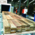 High frequency vacuum wood drying chamber