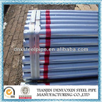 Made in China Factory Galvanized iron pipe G.I. Pipe BS1387 price