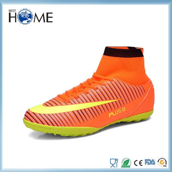 Men's Turf Training Football Boots Sport Indoor Soccer Shoes