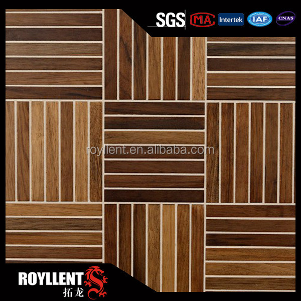 20mm thick non slip wood floor tiles