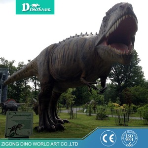 Large Outdoor Life Size Fiberglass Dinosaur For Sale