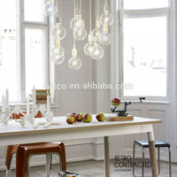 christmas ornaments interior decoration muuto colorful silica and edison light bulb led pendant lighting