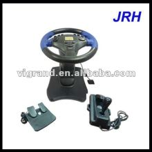Black video game car steering wheel sale for ps2