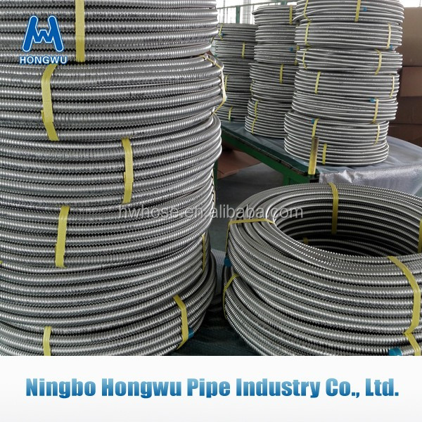 DN16 corrugated stainless steel tube pipe