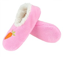 Womens Indoor Slippers with cartoon pattern- Cozy Soft Home Footwear Shoes Non-Skid Warm Footcoverings
