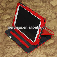 Lanyard Stand LeatherCover Wallet Pouch Case for iPad Mini