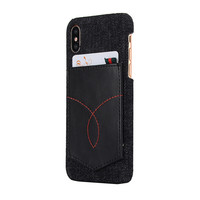 Fashion Mobile Phone Accessory Leather Skin