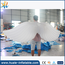 Inflatable large feather angel wings super wings with Color change lights