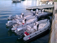 Liya swift inflatable boat speed motor boat from China
