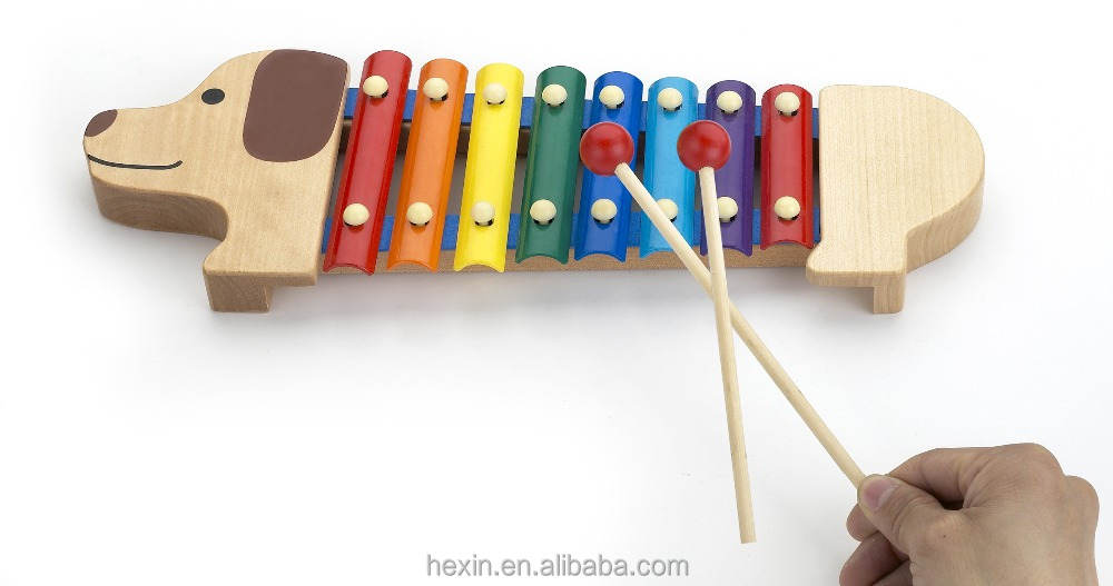 Educational musical instrument wooden toys