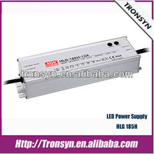 Meanwell PFC IP67 constant voltage dimmable led driver HLG-185H-42(185W 42V)