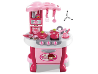 XIONG CHENG 31pcs touch induction kitchen play set kids kitchen toys