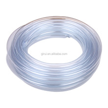 Nice quality colorful soft transparent flexible plastic pvc clear braided hose tube