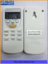 OEM small handy chigo universal air conditioner remote control