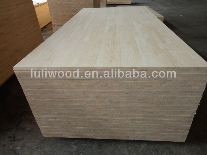 pine finger jointed boards /finger joint board with loer price