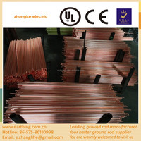 2015 new arrival copper ground rod