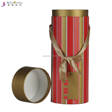 garment packaging cardboard round gift boxes t-shirt tube box