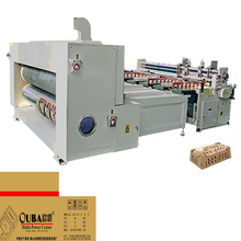 Carton box making machine Corrugated Board Production Line corrugated box assemble machine