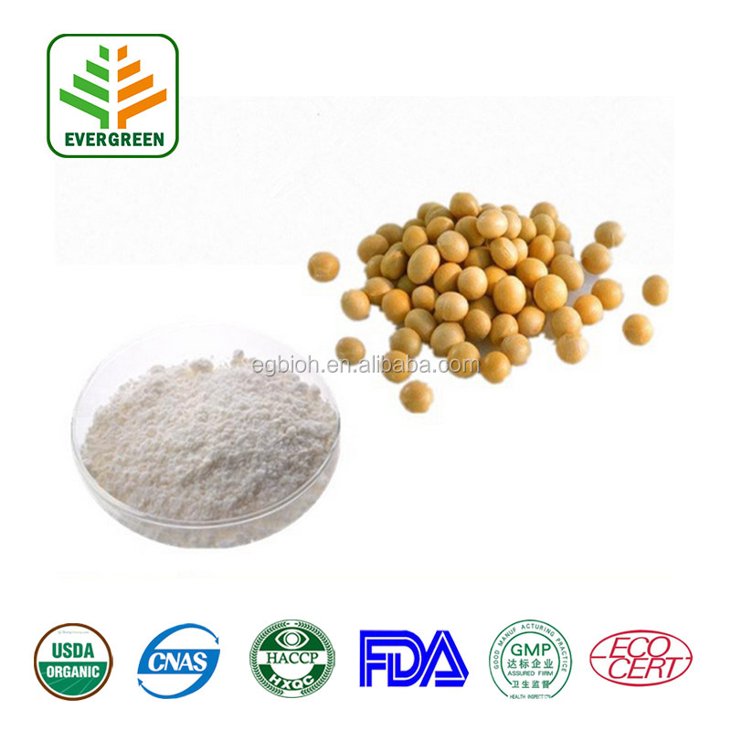Factory Supply Soybean Extract , Daidzin , Daidzein