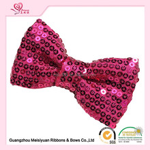 "New Style 3"" Baby Girls Glitter Hair Ribbon Bows with Clip Children Hair Accessories Boutique Glitter Hair Bow"