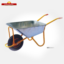 "High quality WB5009 wheel barrow, 16""x4.00-8 wheel"