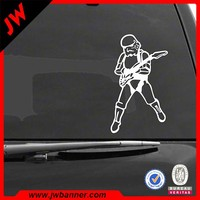 Digital printing plastic model car decals