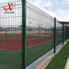Highway Fence 200*50mm PVC Coated Triangle Bending Welded Wire Mesh Fence for Boundary Wall