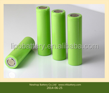 supply 18650 inorganic rechargeable lithium battery for safety alarm and medical equipment