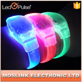 wholesale custom logo waterproof CE multicolor party flashing led wristband for party,event