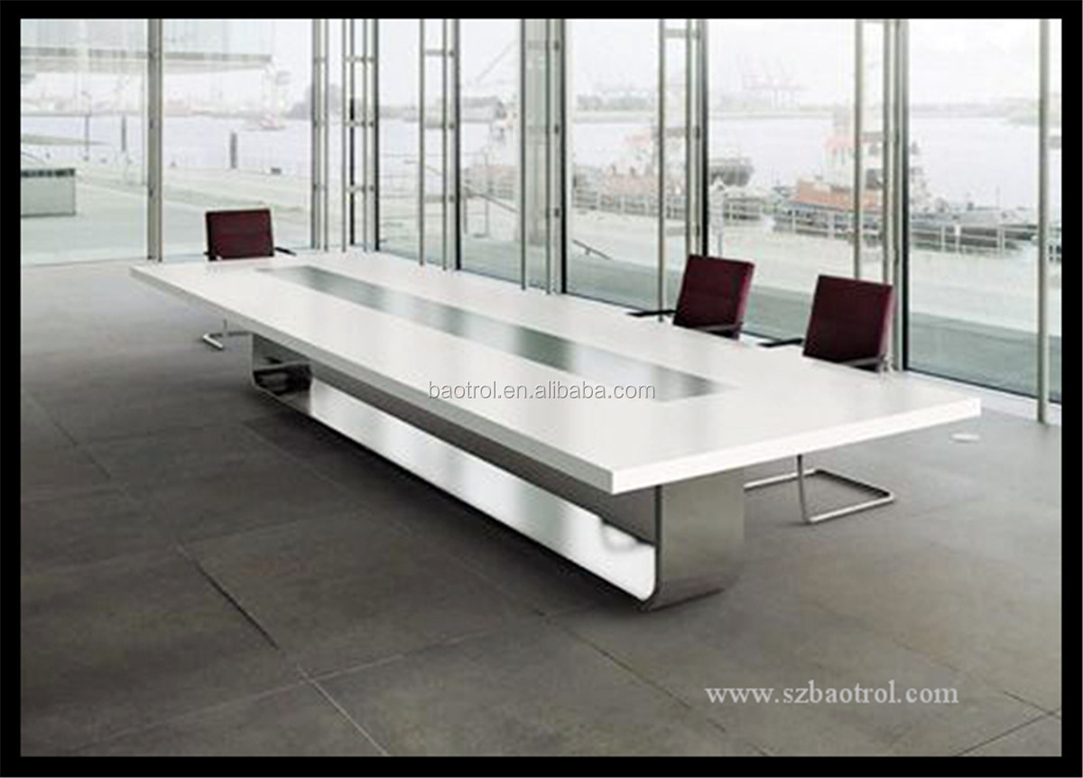 Modern Office Furniture Conference Table Design Marble Top