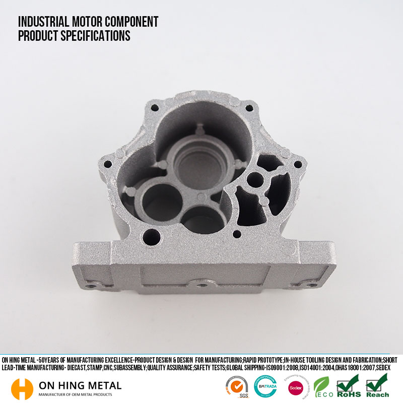 cnc machining engines spare parts die casting double grill pan