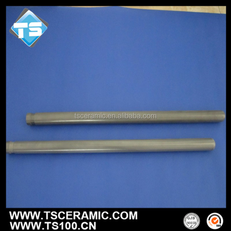 Nitride Bonded Silicon Carbide(Sic)Ceramic Protection Tube Replaces Sic Tube