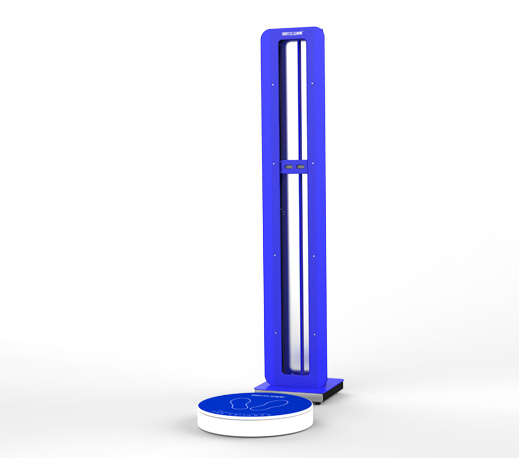 30W 3D Full Human Body Scanner Portable Body Scanner 3D Body Scanning Machine