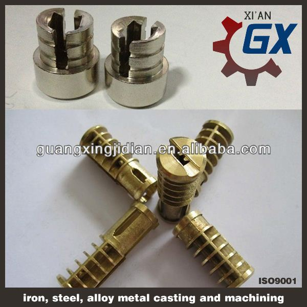 high quality and security brass door lock cylinder
