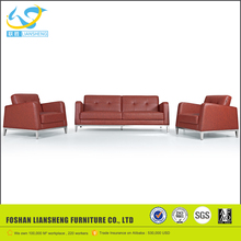 Simple design desk sofa set, high quality pu leather new model sofa sets pictures